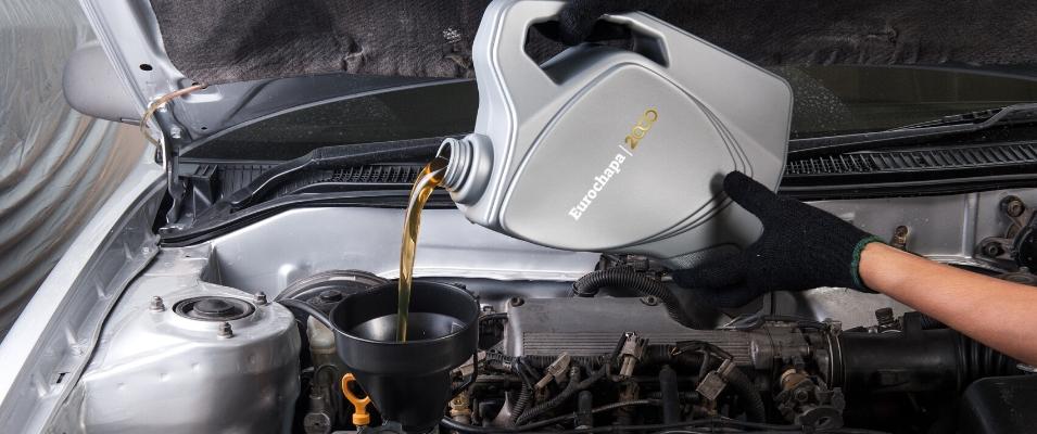 cambiar el aceite y los filtros del coche