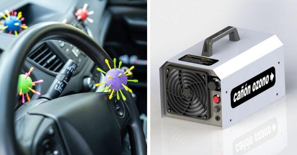 máquina de ozono para coche: qué es y para qué sirve