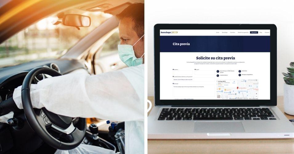 Servicios de recogida de vehículos para su reparación